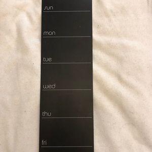 Other - Chalkboard weekly calendar, office